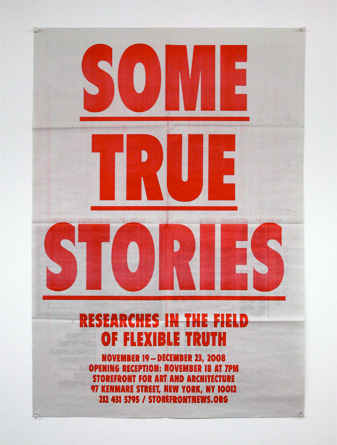 Some True Stories Poster/Mailer